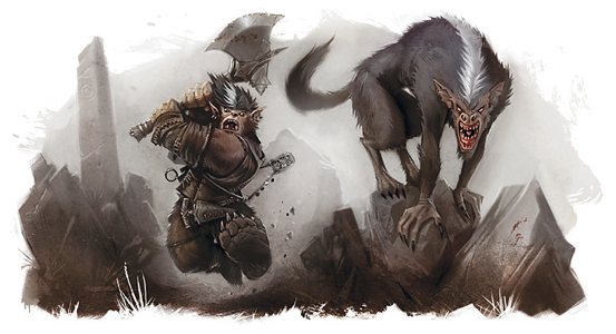 10. Barghest 2009 - Monster Manual 2 A.png