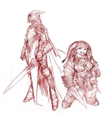 Pathfinder 2 Elves & Dwarves