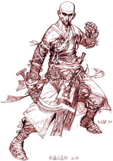 Monks in Pathfinder 2: Fighting Styles & Ki | Morrus