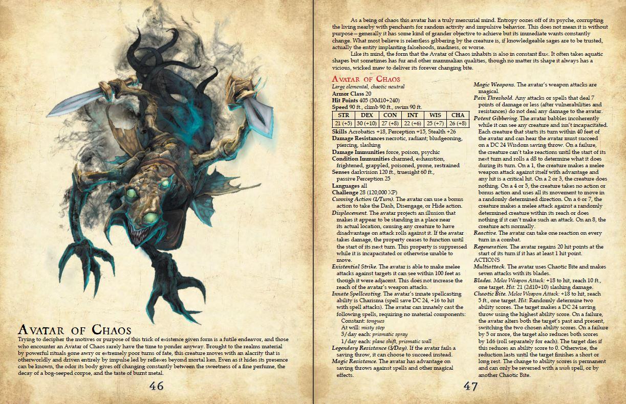 3 Spread Avatar of Chaos epic dnd 5e.JPG