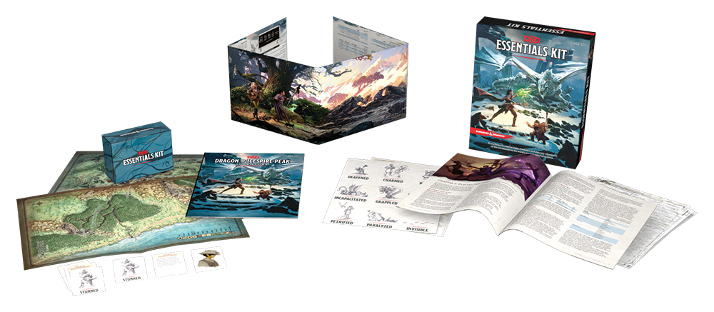 News Digest: New D&D Products Released, Pathfinder 2nd Ed Preview