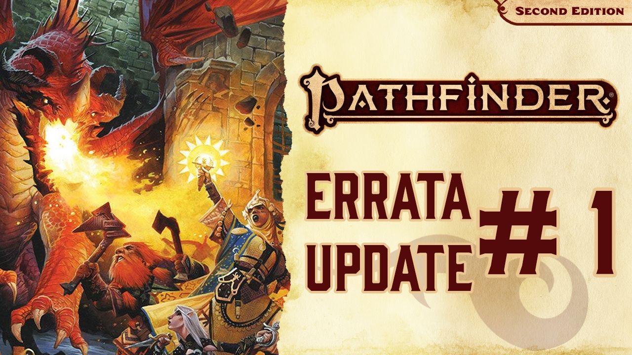 PF2 - Pathfinder 2E Official Errata Document | Morrus