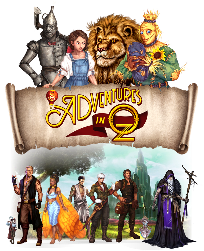 5e Adventures in Oz- Setting, Monsters, Maps, and More!.png