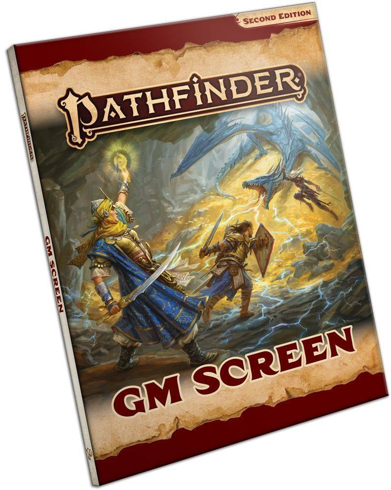 This Is The Pathfinder 2E GM Screen!