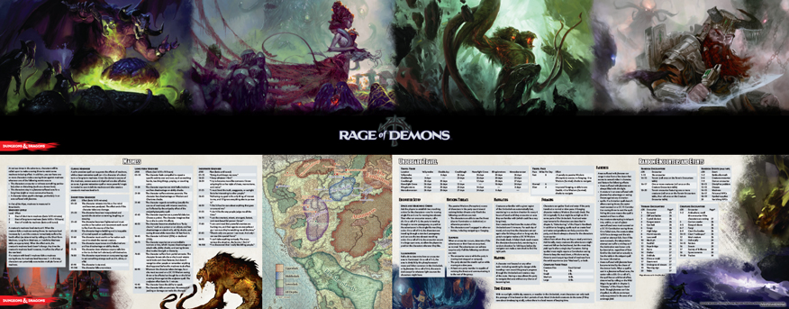 image regarding Printable Dm Screen 5e Pdf named Gale Stress 9 Releases Out of the Abyss DM Show Refreshing