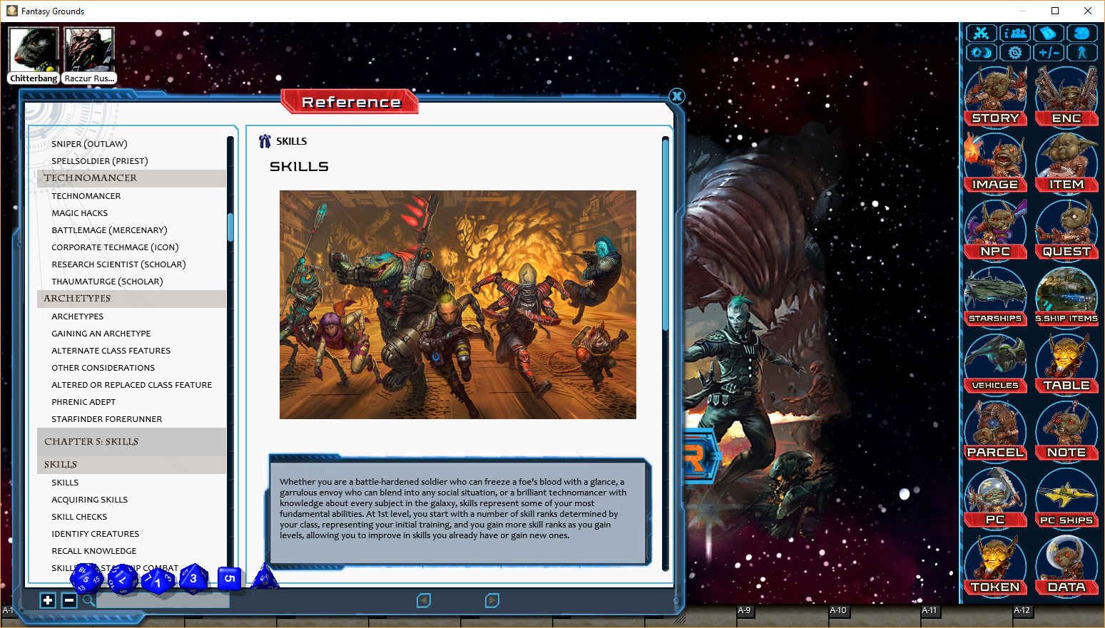 Want Starfinder on Fantasy Grounds? Now's the Time!