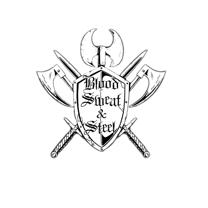 Blood, Sweat & Steel, a Sword & Sorcery Tabletop RPG.png