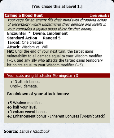 inherent bonus pathfinder