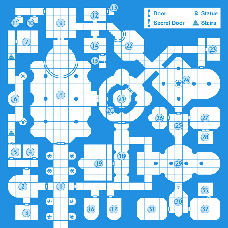 Old-school dungeon map tutorial