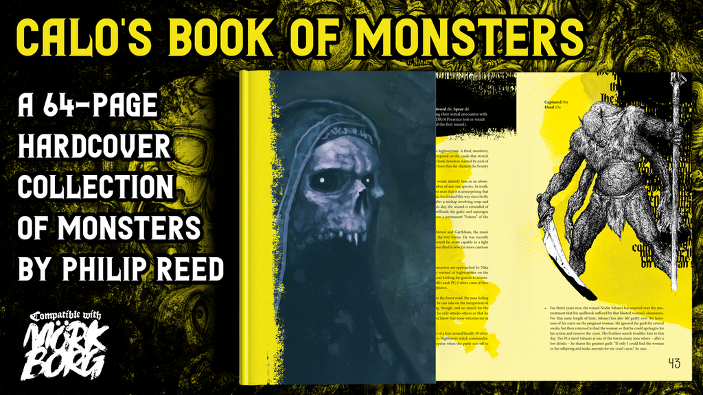 Calo's Book of Monsters, a Third-Party Mörk Borg Book.png