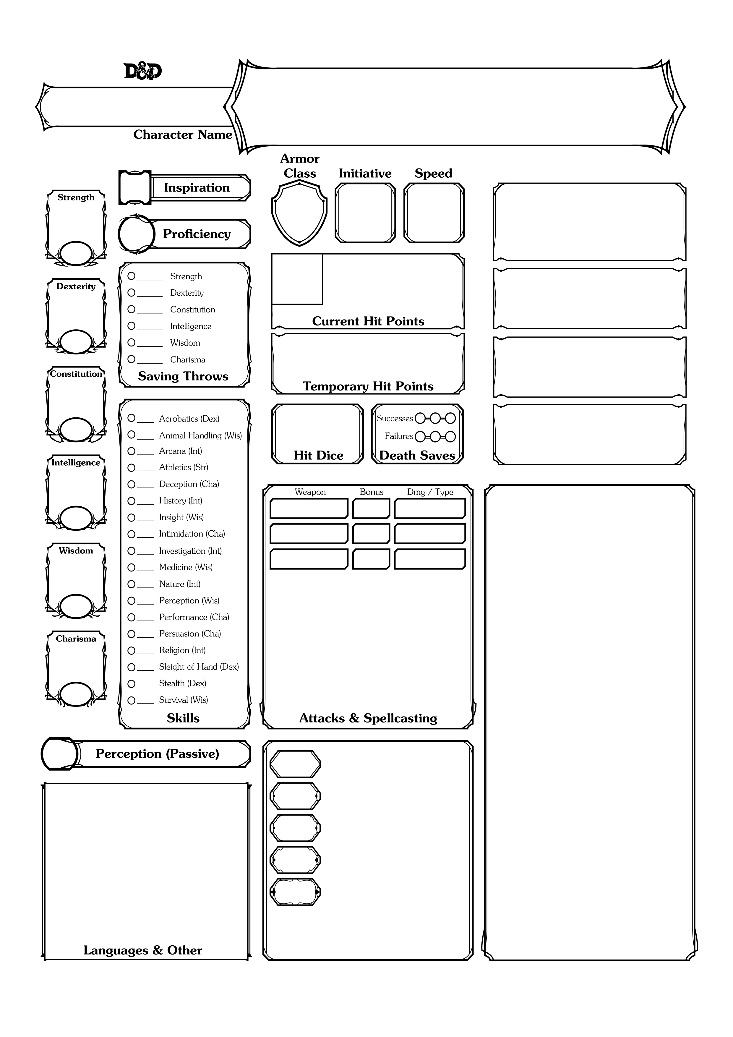 An easy to read DD 5e conditions chart to give DMs a quick
