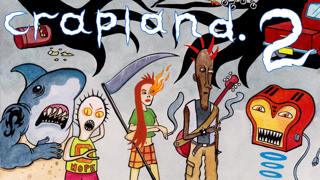 Crapland 2 - A Surrealist Suburban Troika RPG Book.jpg