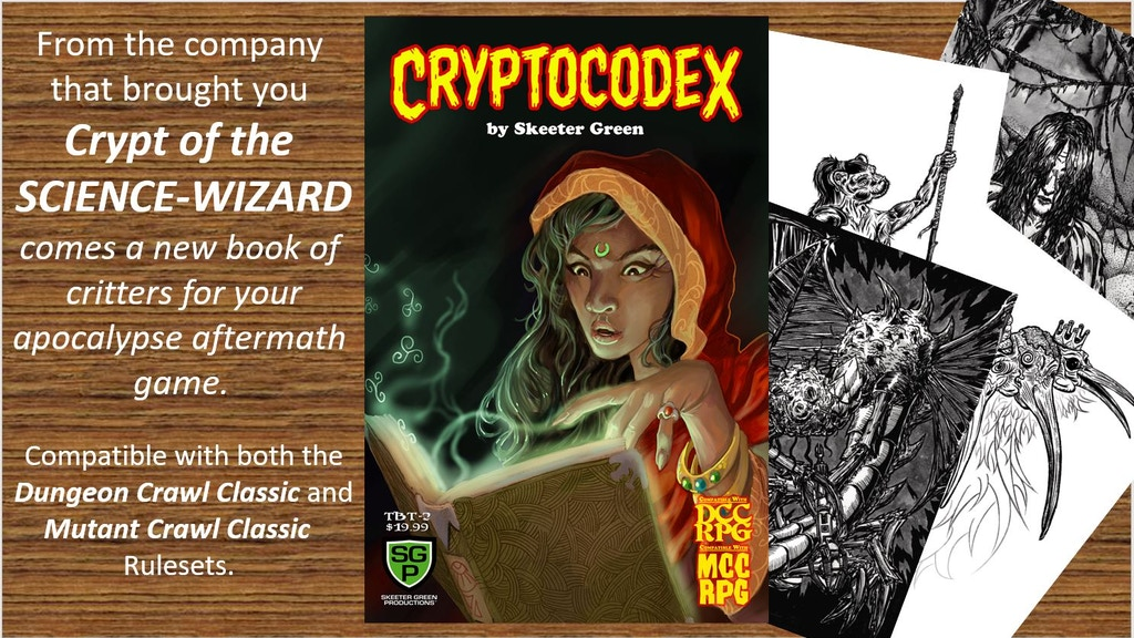 Cryptocodex, critters for your apocalyptic aftermath game.jpg