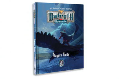 Dalreth 5E fantasy RPG Player's Guide and pewter miniatures.png