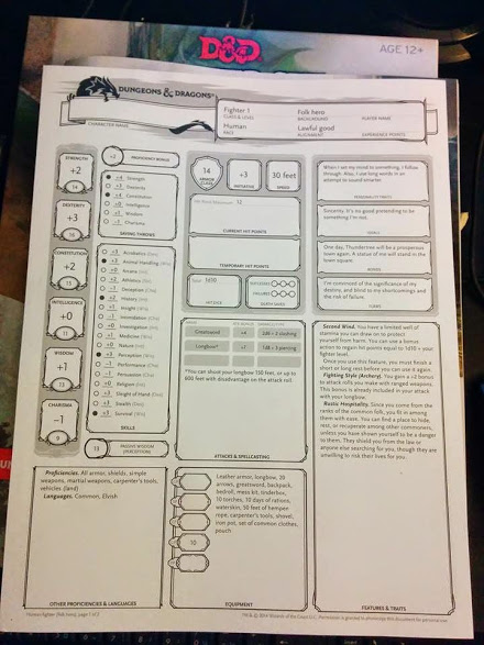 Images of Archer Character Sheet - #rock-cafe