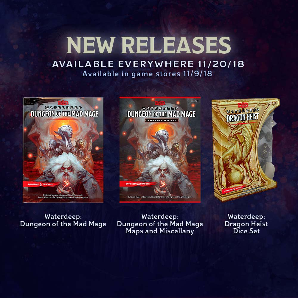 Dungeon of the Mad Mage Delayed By One Week!