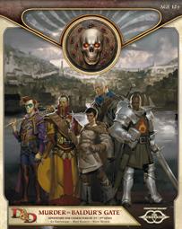 Murder in Baldur's Gate - Some DMing Skill Required (minor