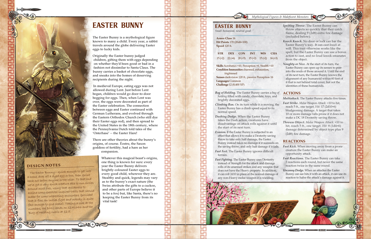 D&D 5E - Happy Easter! Meet The Easter Bunny! | EN World | Dungeons &  Dragons | Tabletop Roleplaying Games