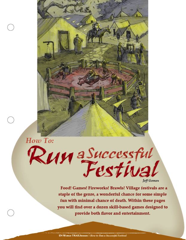 TRAILseeker #58] How To Run A Successful Festival