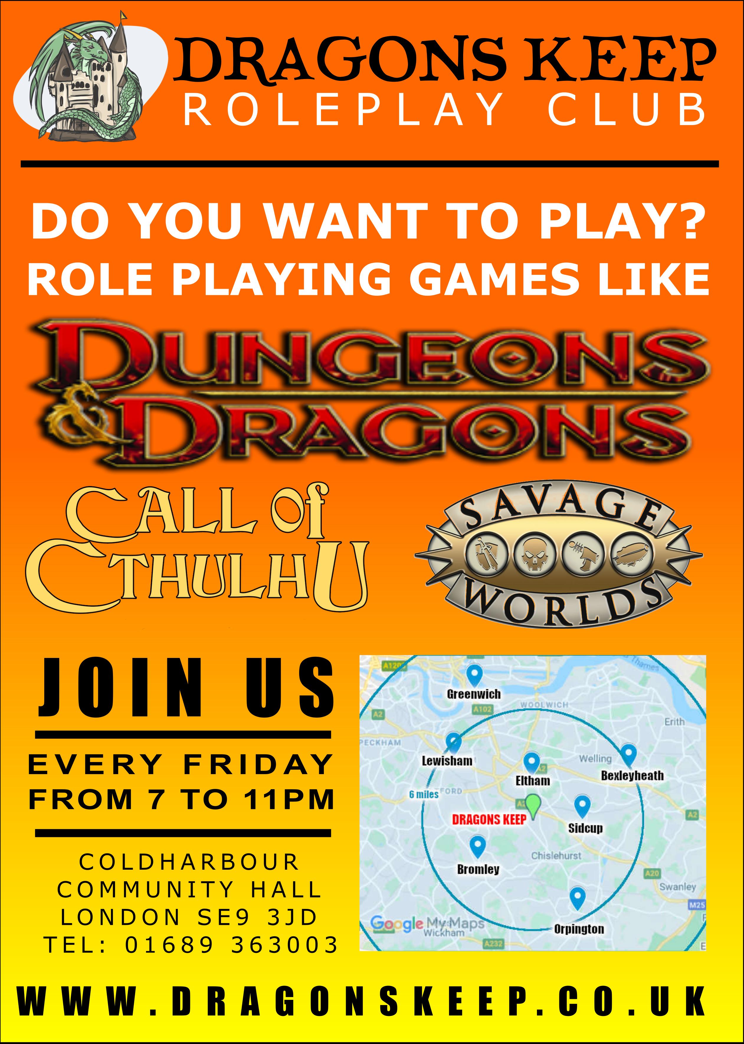 Dragons Keep Role Play Club