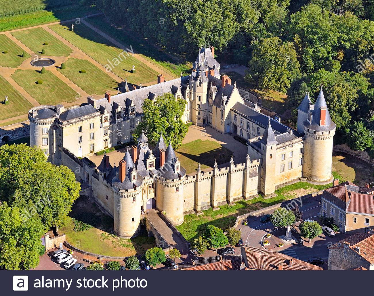 france-vienne-dissay-the-castle-aerial-view-2B4B5FN.jpg