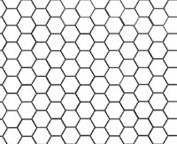 How to put a hex grid on a map?