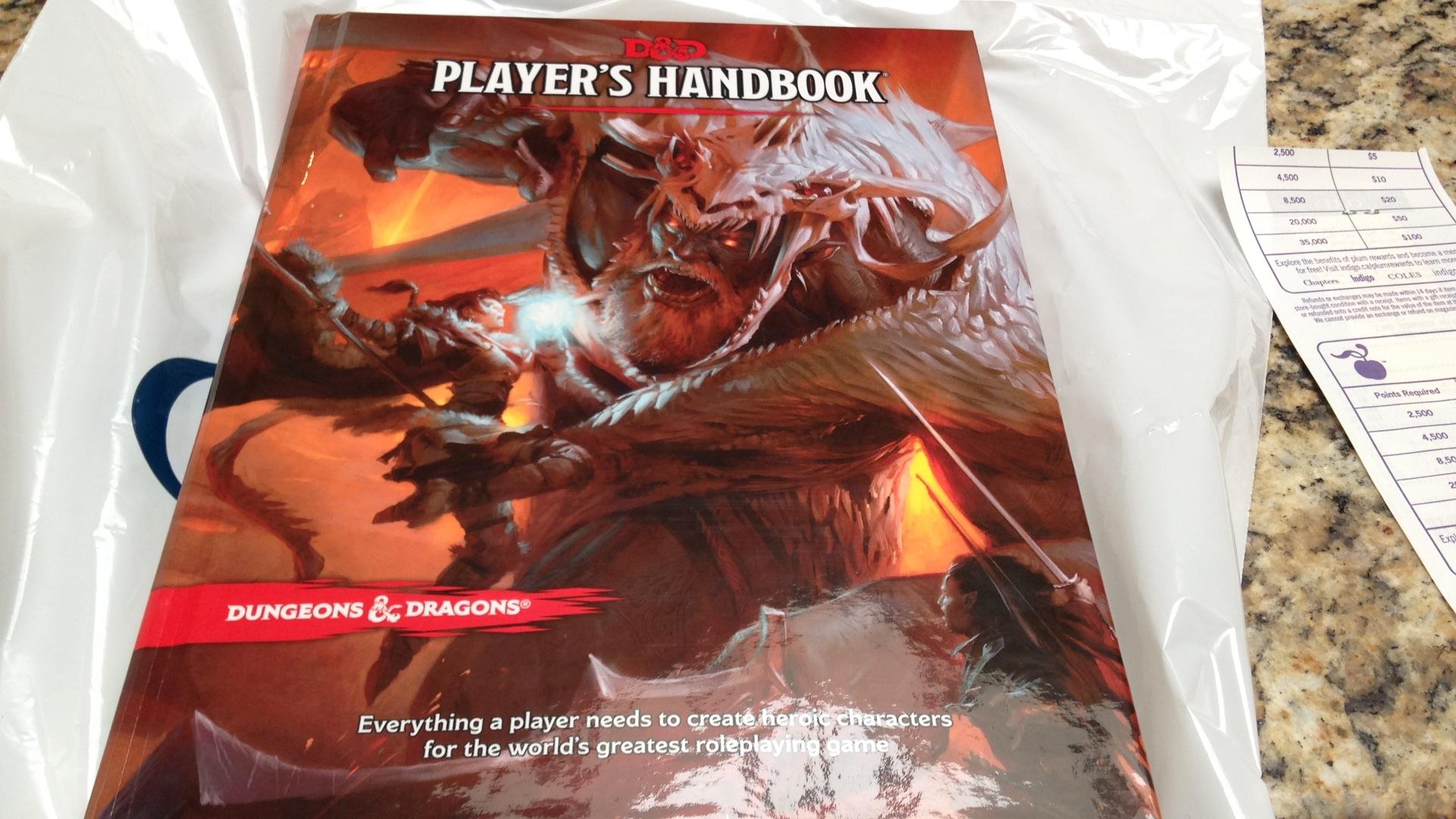 Livro do Jogador D&D 5E