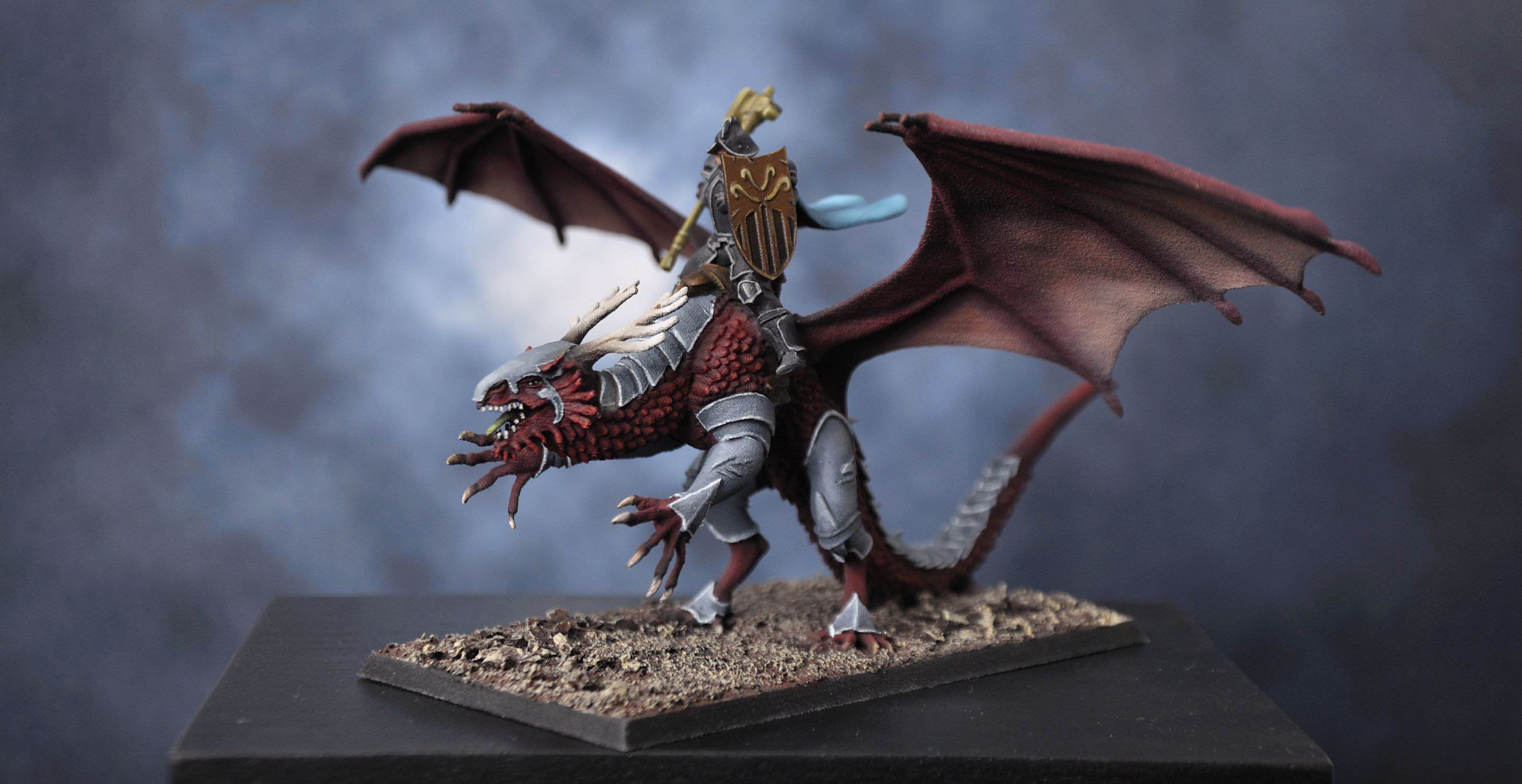 mounted heroes mount your character mini on a horse griffin or