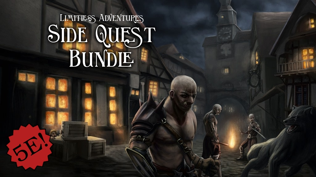 Limitless Side Quests Quickstarter (11 short 5E adventures).jpg