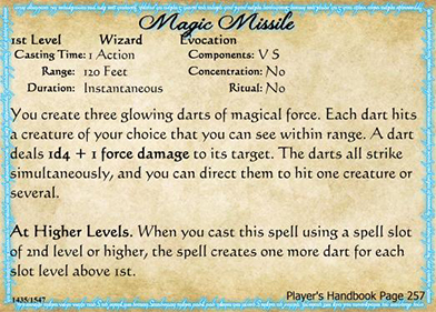 Homebrew Spell Cards for D&D 5E using Magic Set Editor (MSE)