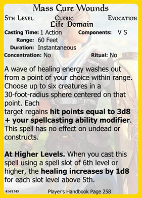 Homebrew Spell Cards for D&D 5E using Magic Set Editor (MSE) - Page 3