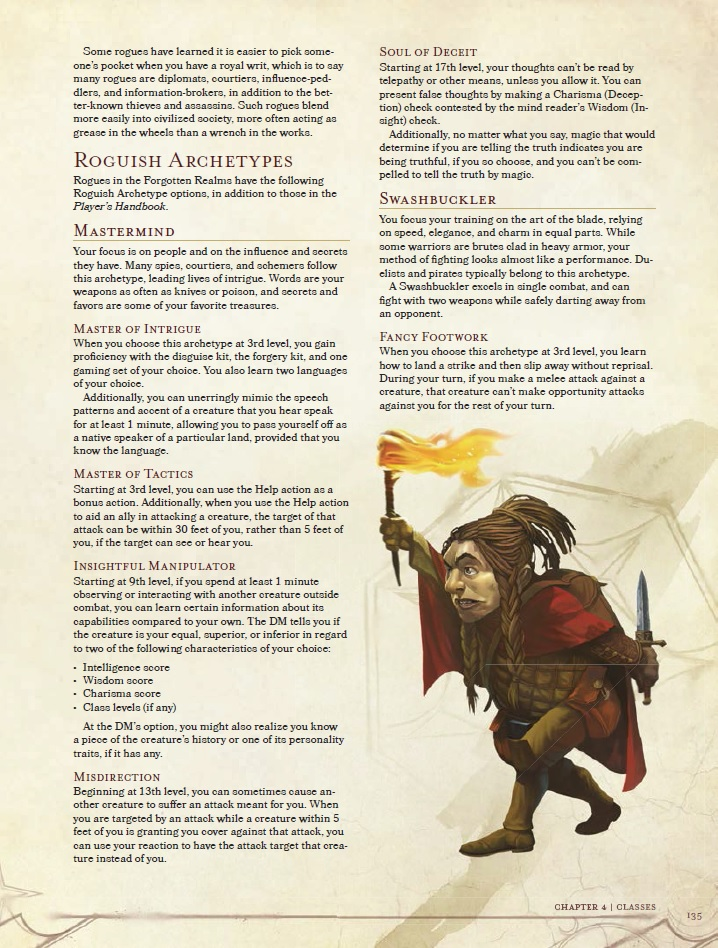 Rogue Mastermind Archetype Up, Courtesy of Extra Life