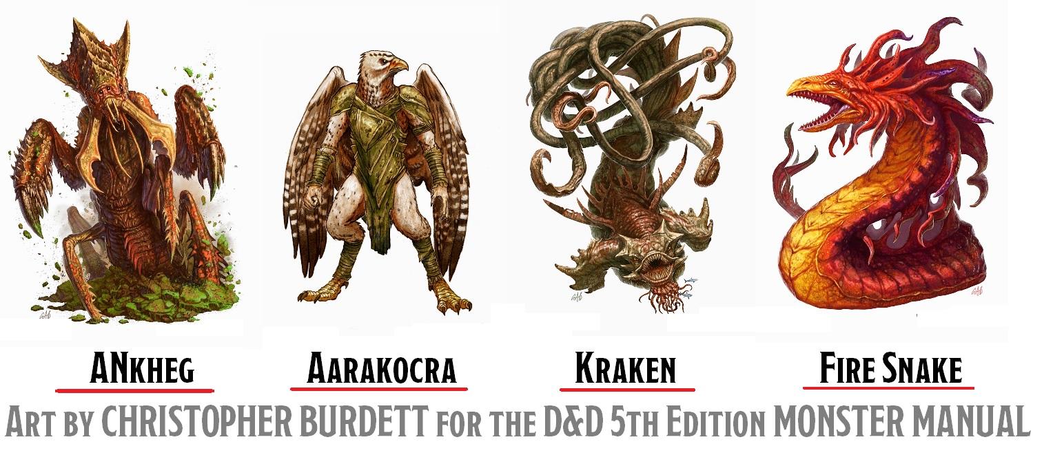 Monster Manual Art Of Christopher Burdett Manual Guide