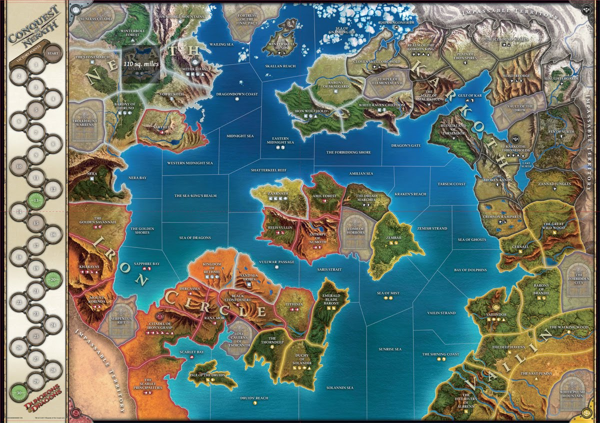 5E An Atlas of the D&D Worlds