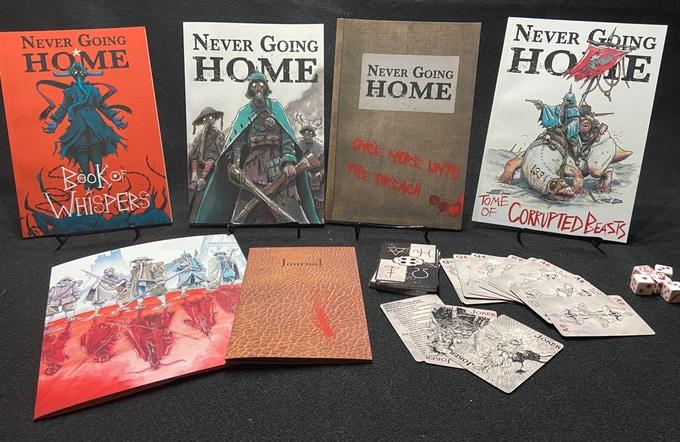 Never Going Home All Books.jpg