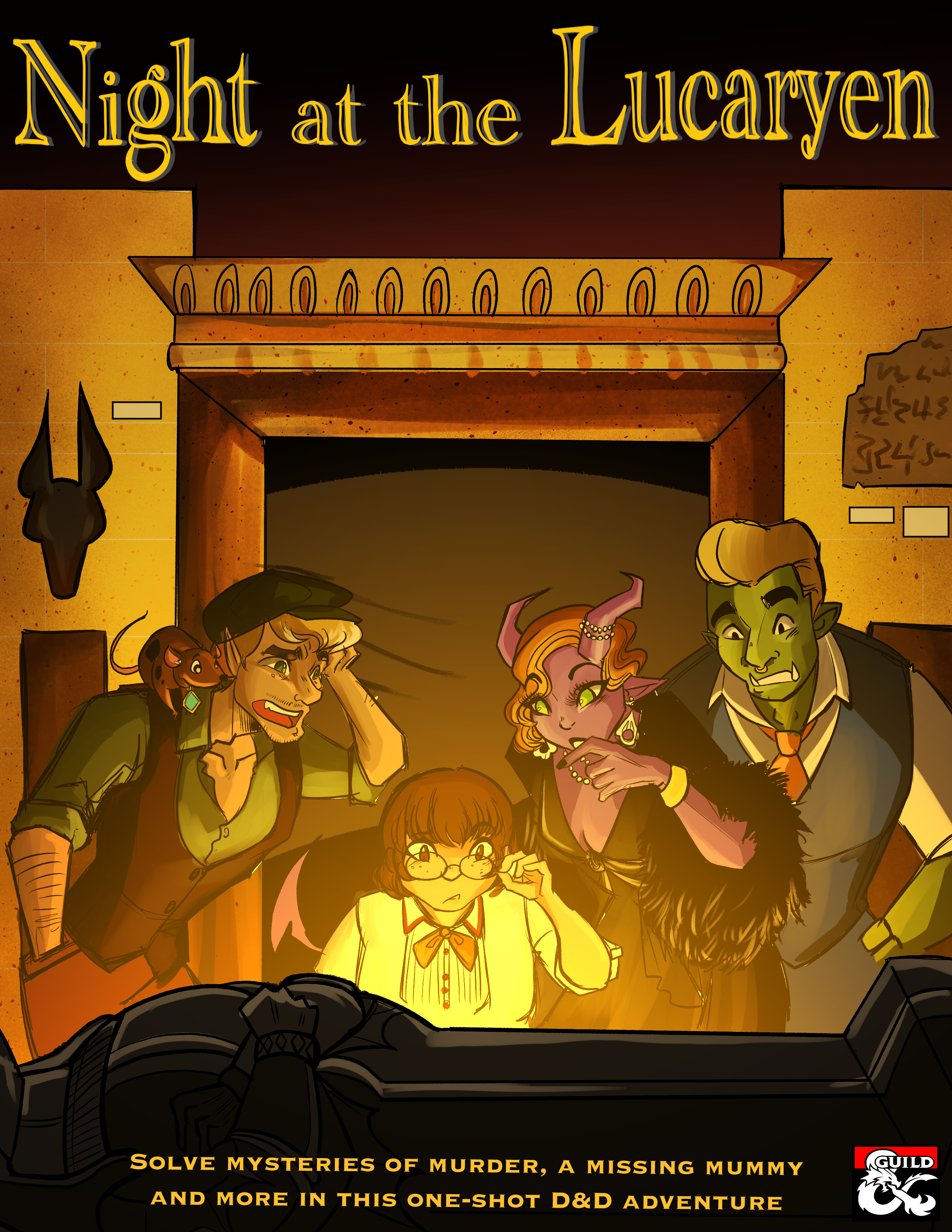 Night At the Lucaryen Cover.png