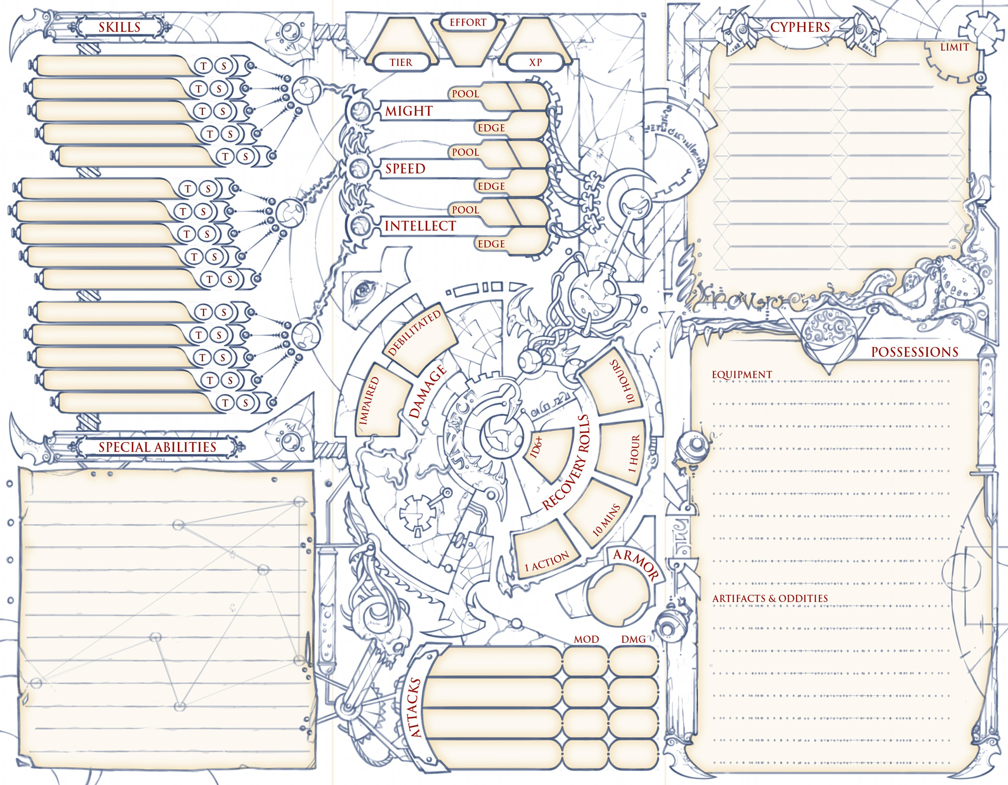 Homebrew Have a character sheet  - Page 2