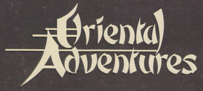 Oriental Adventures Collector's Guide