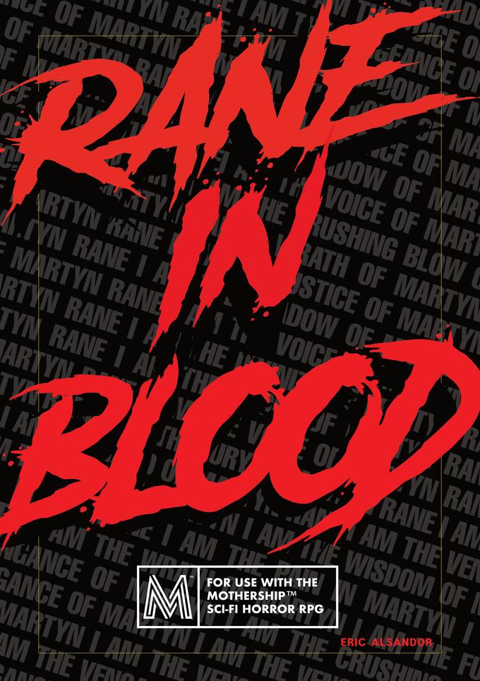 RANE IN BLOOD- Mothership Adventure & Antagonist Sourcebook.png