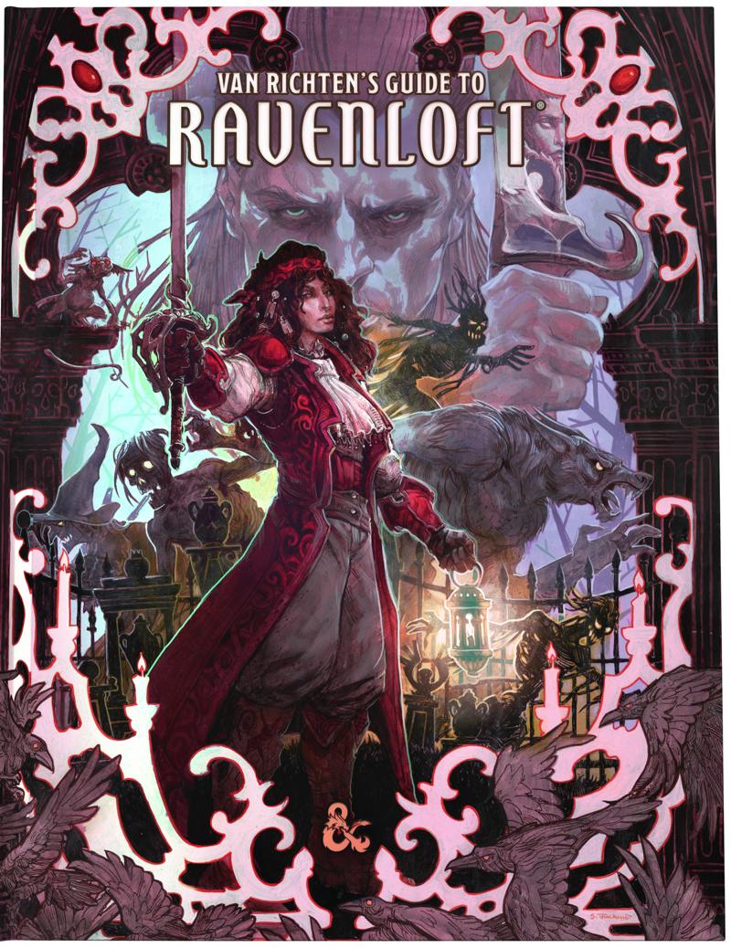 Here's the Ravenloft Alternate Cover!