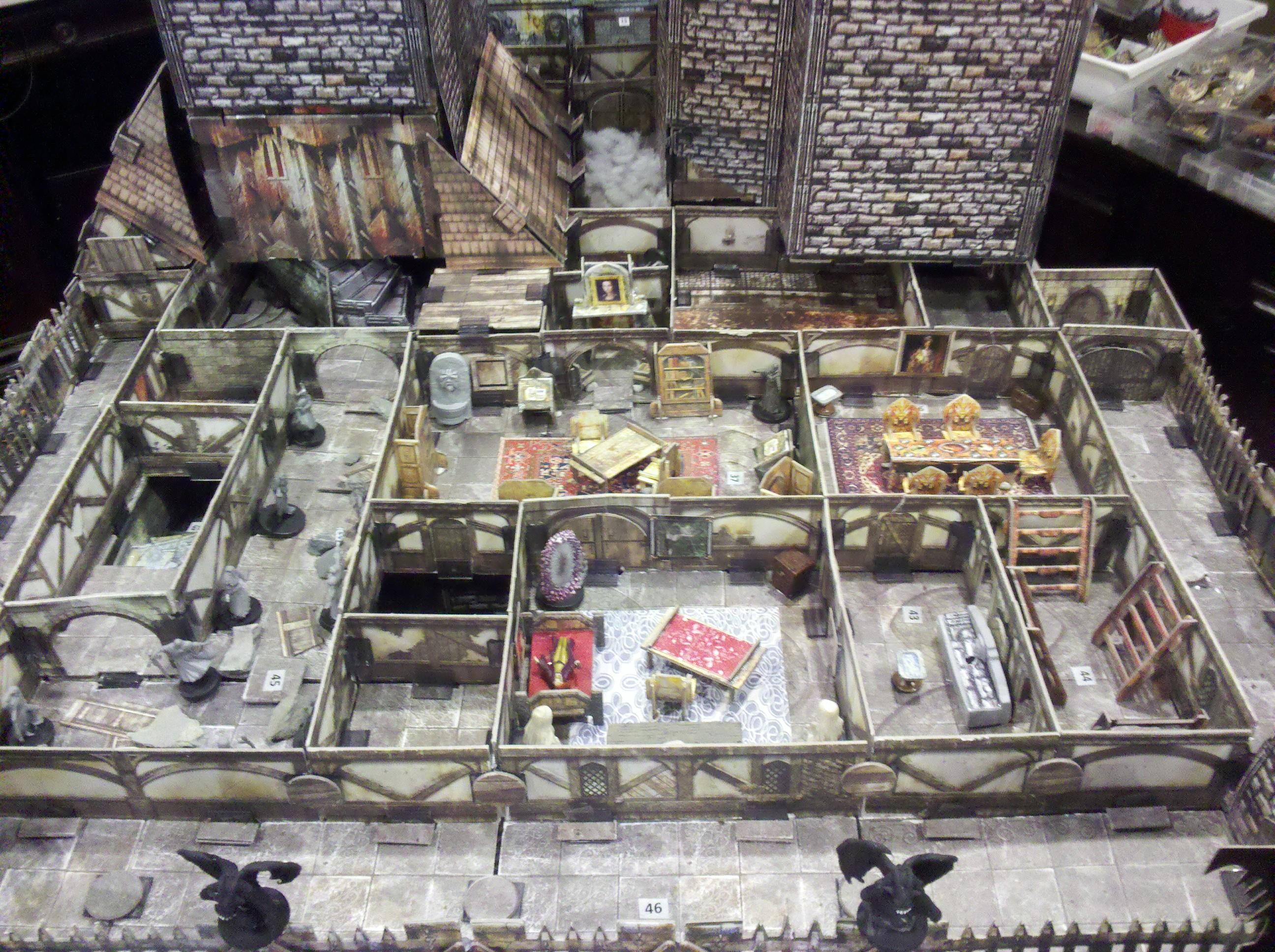 Strahd Castle Ravenloft In 3d Glory