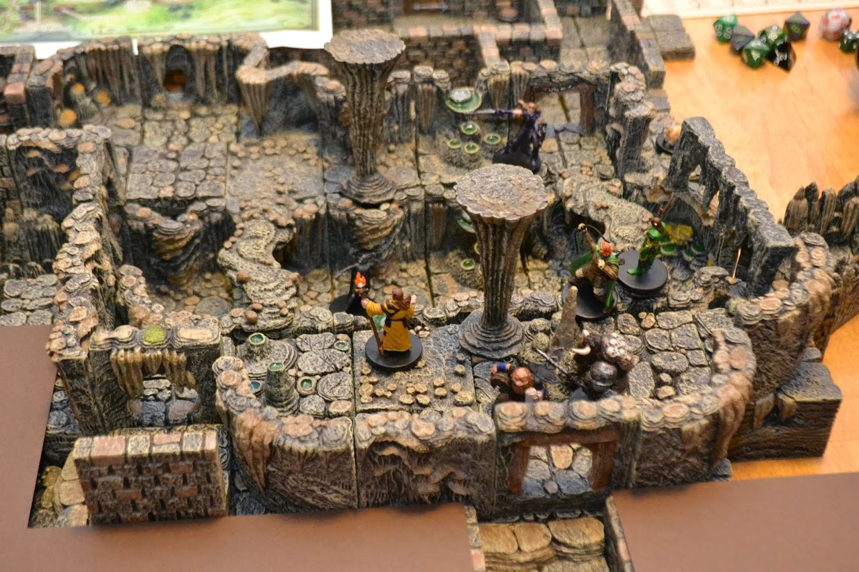 Check Out This Redbrand Hideout From Lost Mine Of Phandelver Made With Dwarven Forge Morrus Unofficial Tabletop Rpg News
