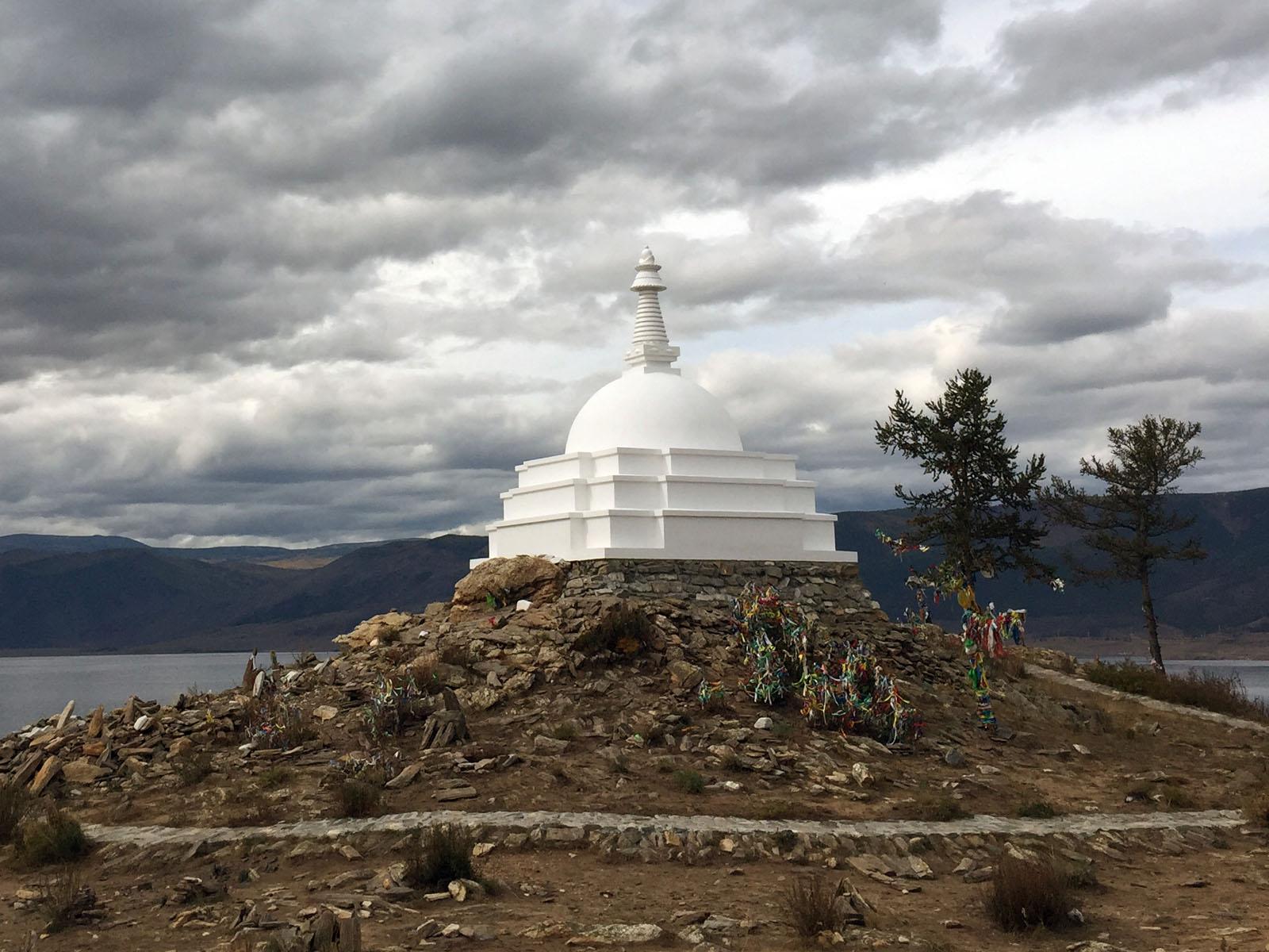 Russia, Ogoy Island, Enlightenment Stupa.JPG