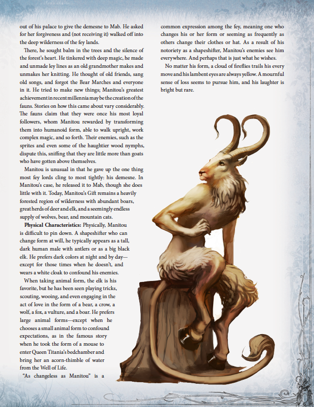 Explore New Fey Options For 5E & Pathfinder With THE FAERIE RING