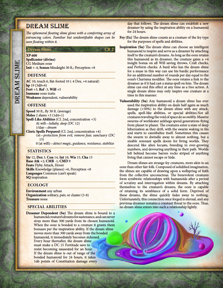 A New Pathfinder Monster Creation System From Owen Stephens