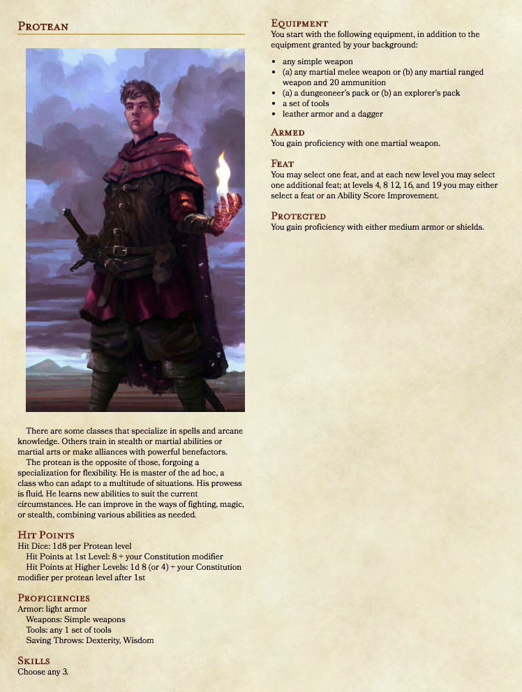 Homebrew Single-spell Caster & a Feat-based Class