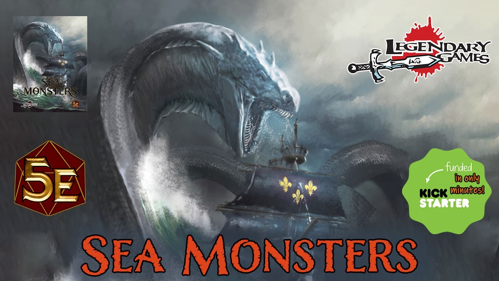 Sea Monsters- 60+ savage creatures of the deep for DnD 5E.jpg