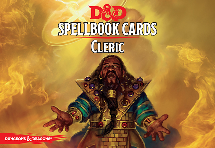 GF9 is updating the D&D 5E SPELL CARDS