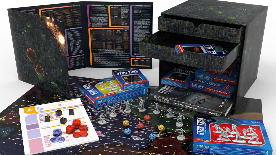 That Upcoming Star Trek Rpg Comes In A Special Borg Cube Boxed Set