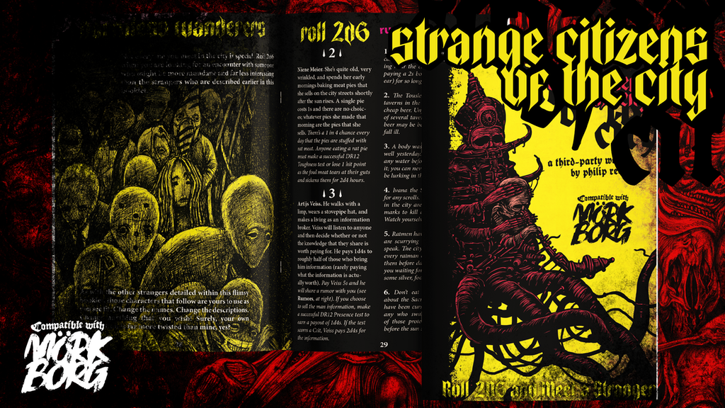 Strange Citizens of the City, a Third-Party Mörk Borg Book.png